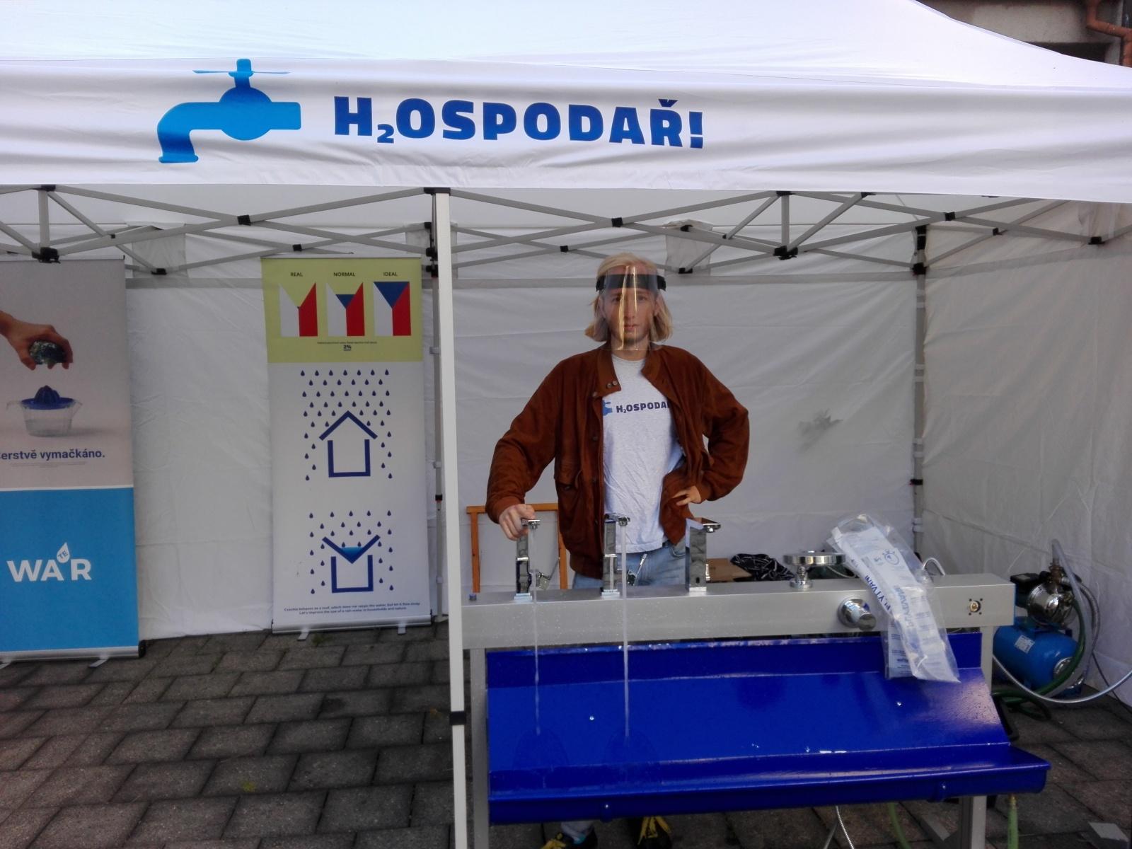 Náš H2Ospodář je připraven!