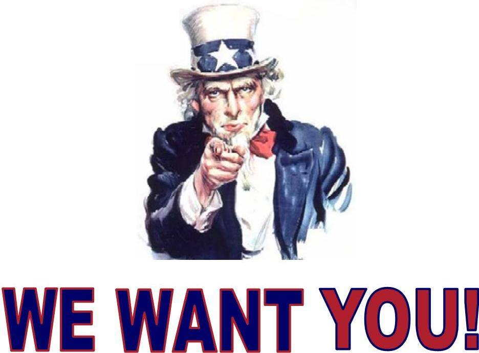 Chceme tě!