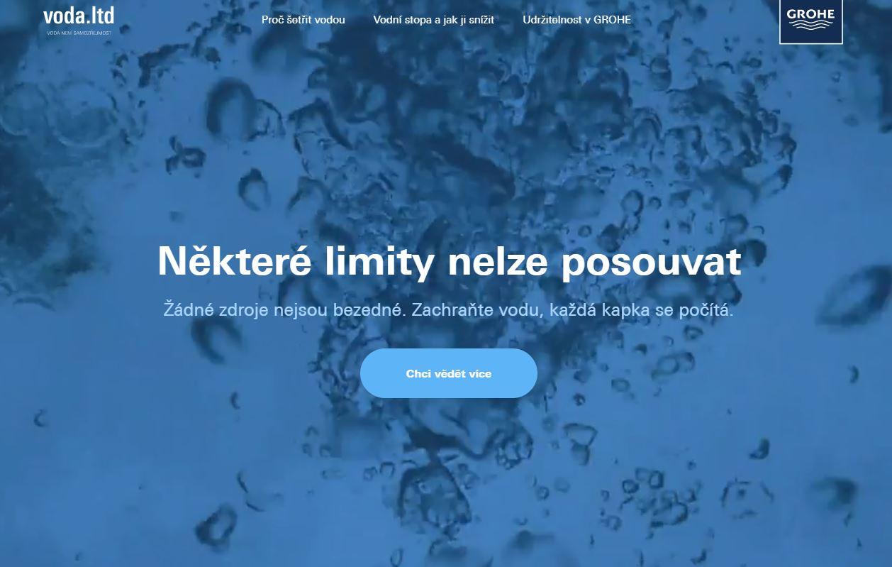 Voda.limited je na světě